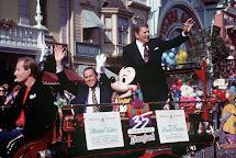 Ronald Reagan Disneyland Opening