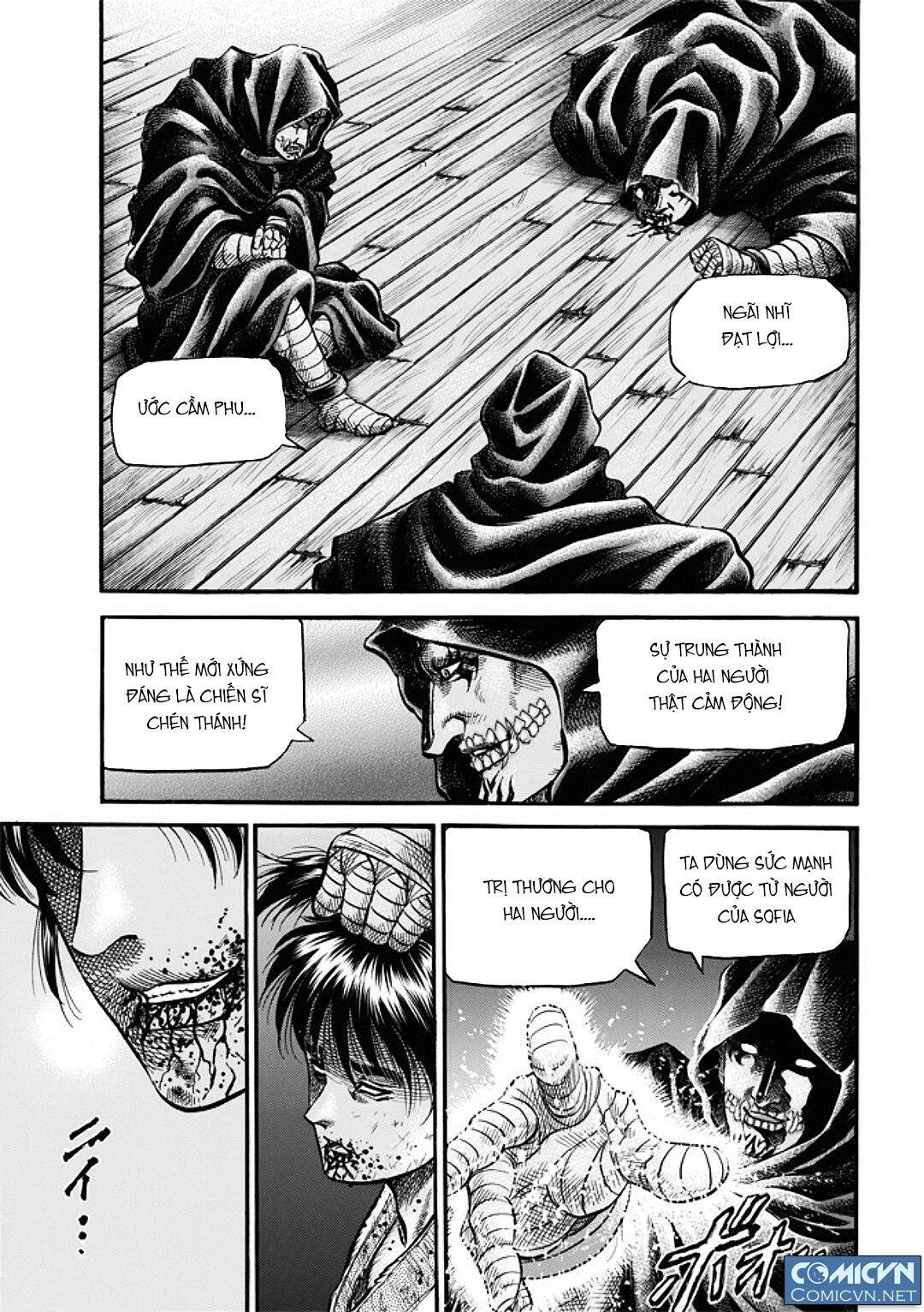 Chú bé rồng-Ryuuroden chap 287 Trang 4 - truyendep.com