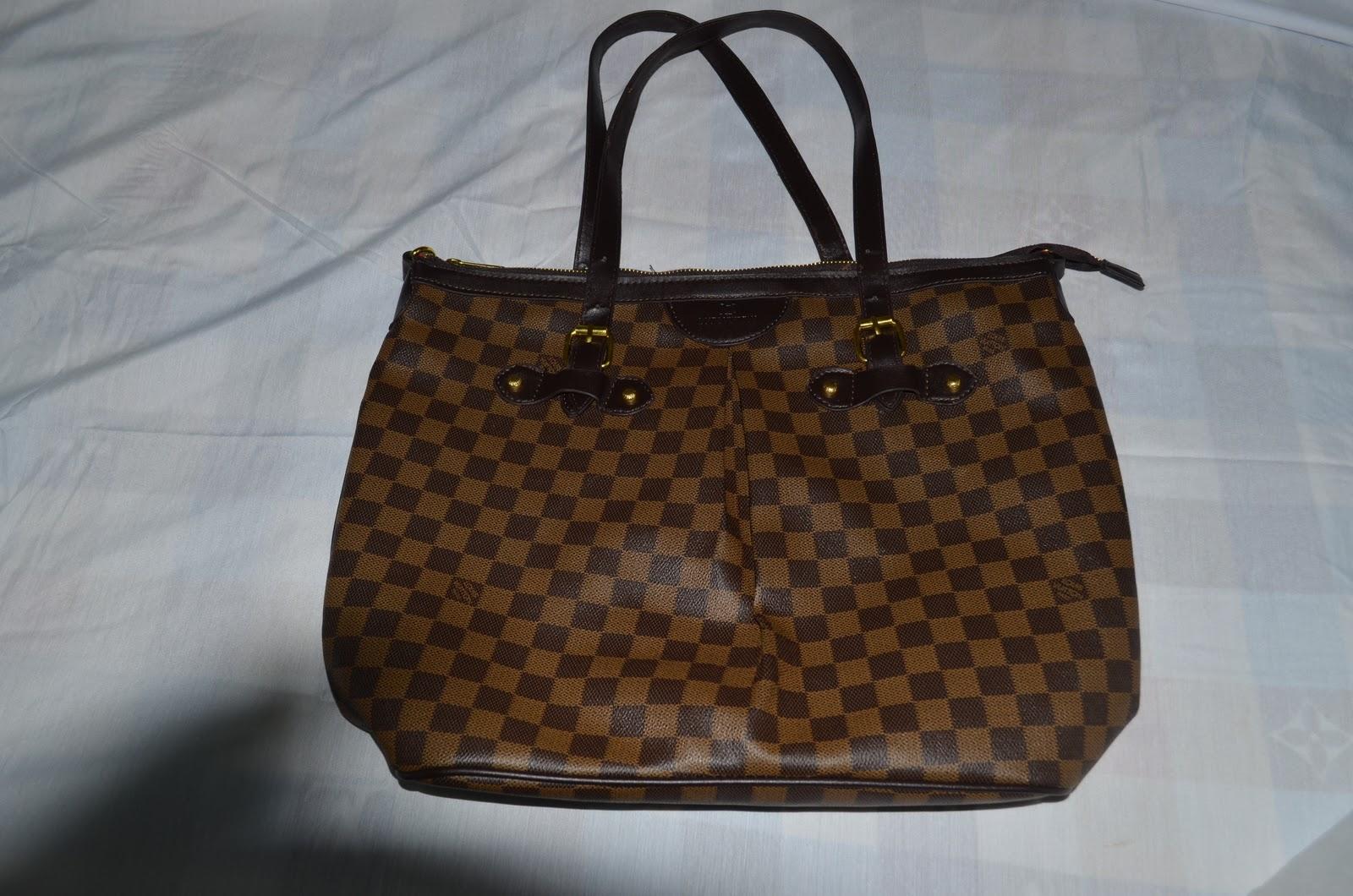 white trash authentic louis vuitton handbag sold