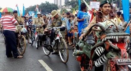 gambar sepeda onthel antik dan unik