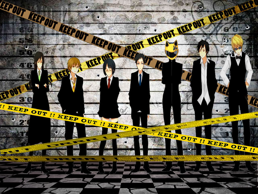 just walls durarara wallpaper