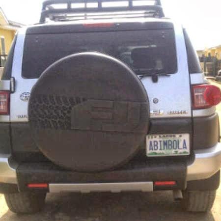 bimbo akinsanya new jeep