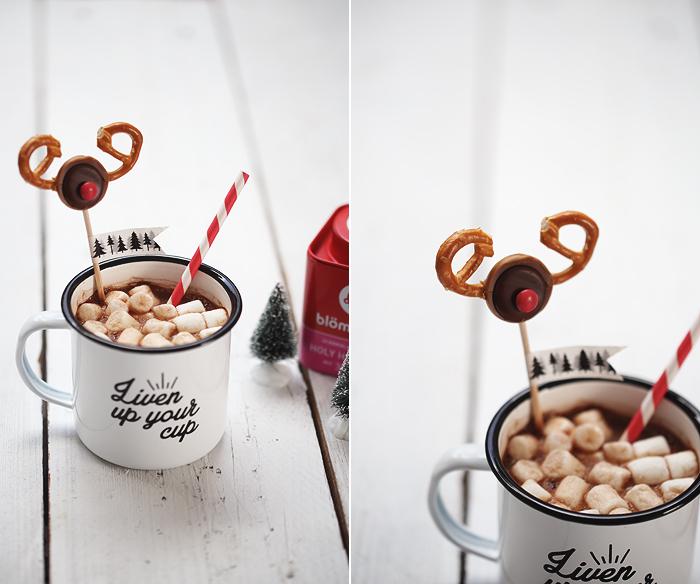 Hot Chocolate Marshmallows Christmas