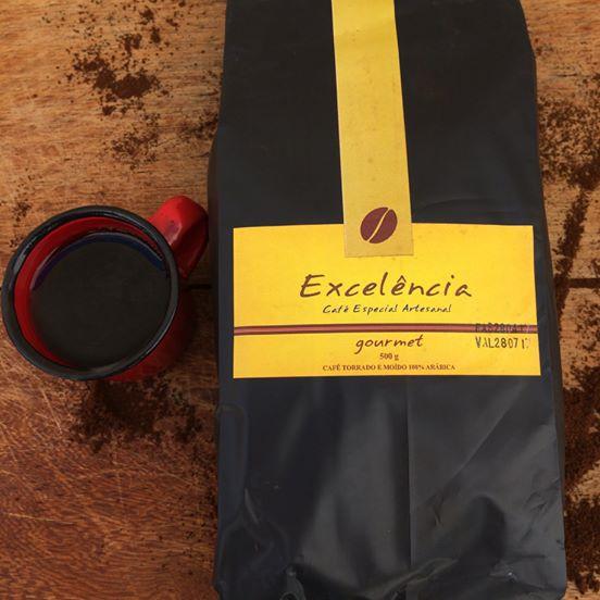 Café Excelência -  Gourmet 100% Arábica - Oferta no site por R$22,90