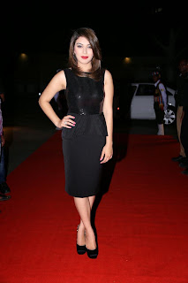 Actress Hansika Motwani Latest Pictures in Black Dress at iphone 6 Launch  10.jpg