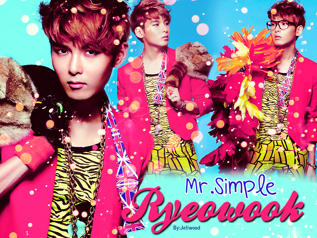 Mofeta_Machine: Super Junior Mr.Simple members wallpapers Version 2 ^^