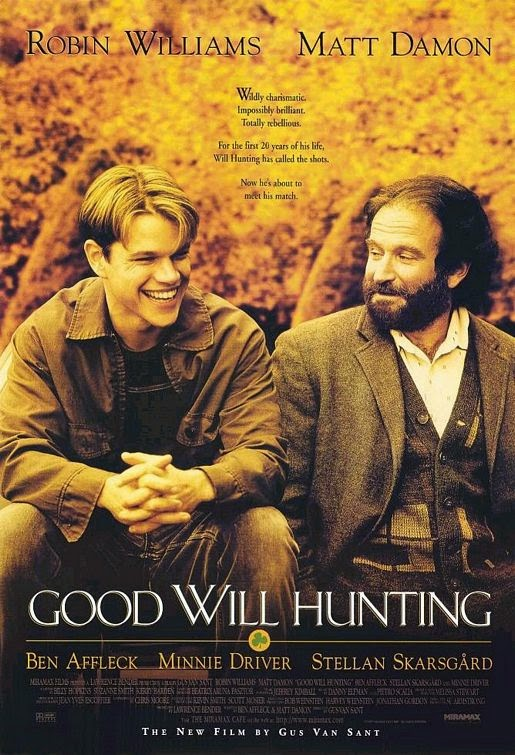 Good Will Hunting: Matt Damon & Robin Williams | A Constantly Racing Mind