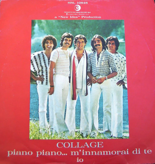 Anni 70 - I COLLAGE - Piano piano m' innamorai di tè