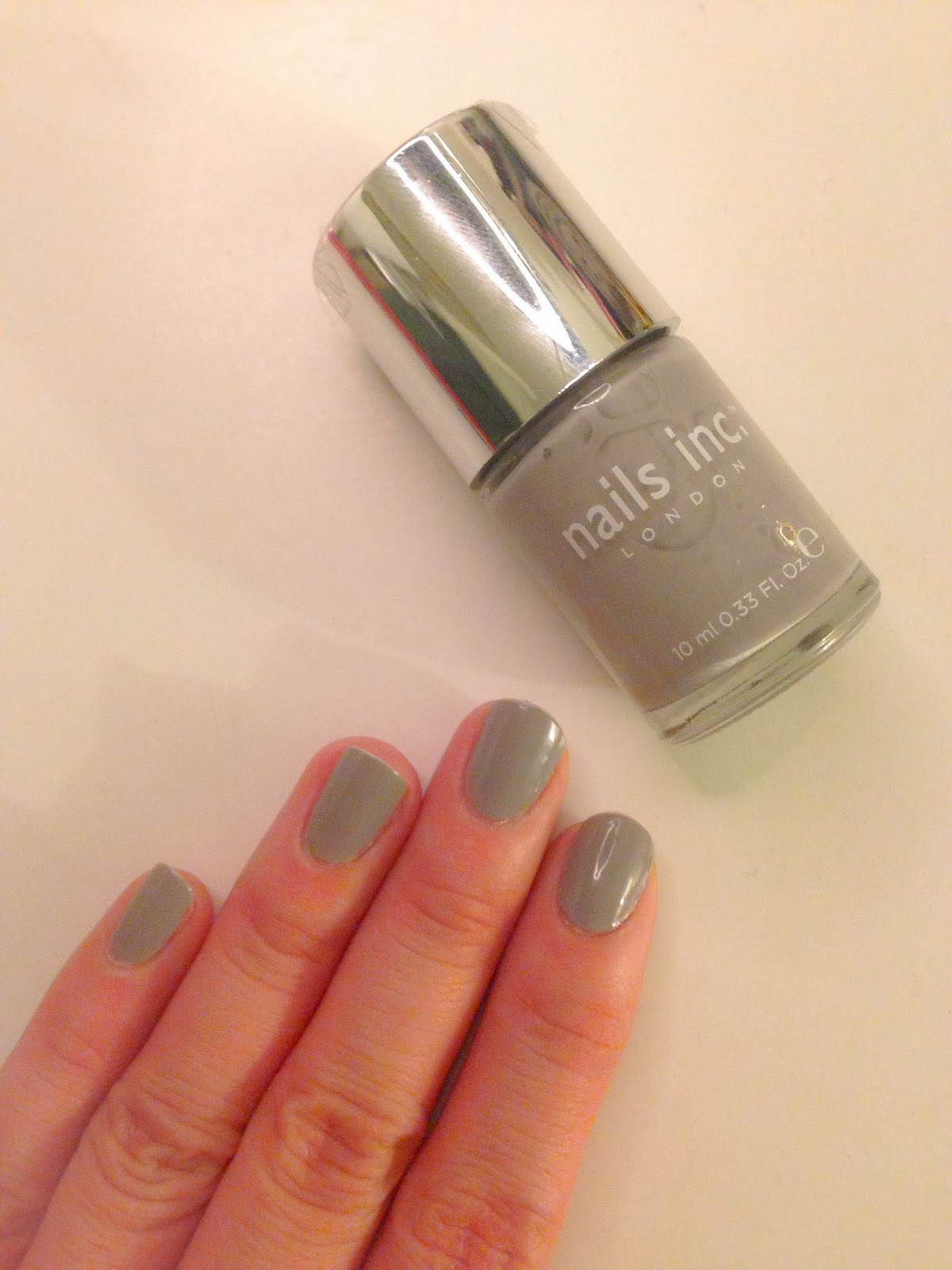 Nails Inc Hyde Park Place: Grey is my new beige