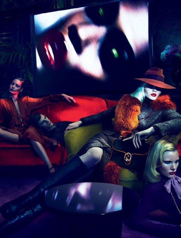 Abbey Lee Kershaw - Gucci Fall 2011 Campaign