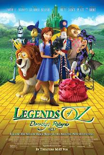 Watch Legends of Oz: Dorothy's Return (2013) movie free online