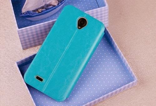 MOFI PU leahter and PC Steel Plate Bracket Book Cover Skin Case For Lenovo A850
