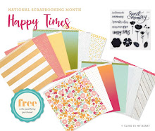 National Scrapbooking Month--Happy Times