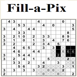 Online Fill-a-Pix Puzzle