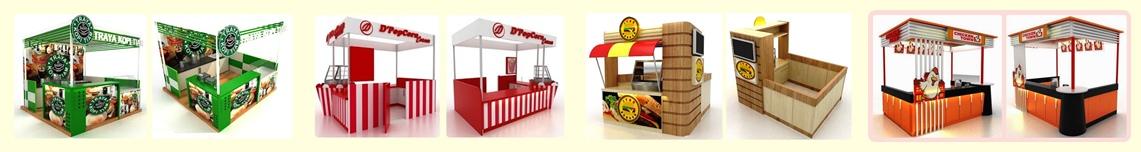 Booth Makanan,Booth Minuman,Stand makanan Mall,Food Court,Counter Toko Klik gambar ya