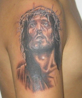 Jesus tattoo picture