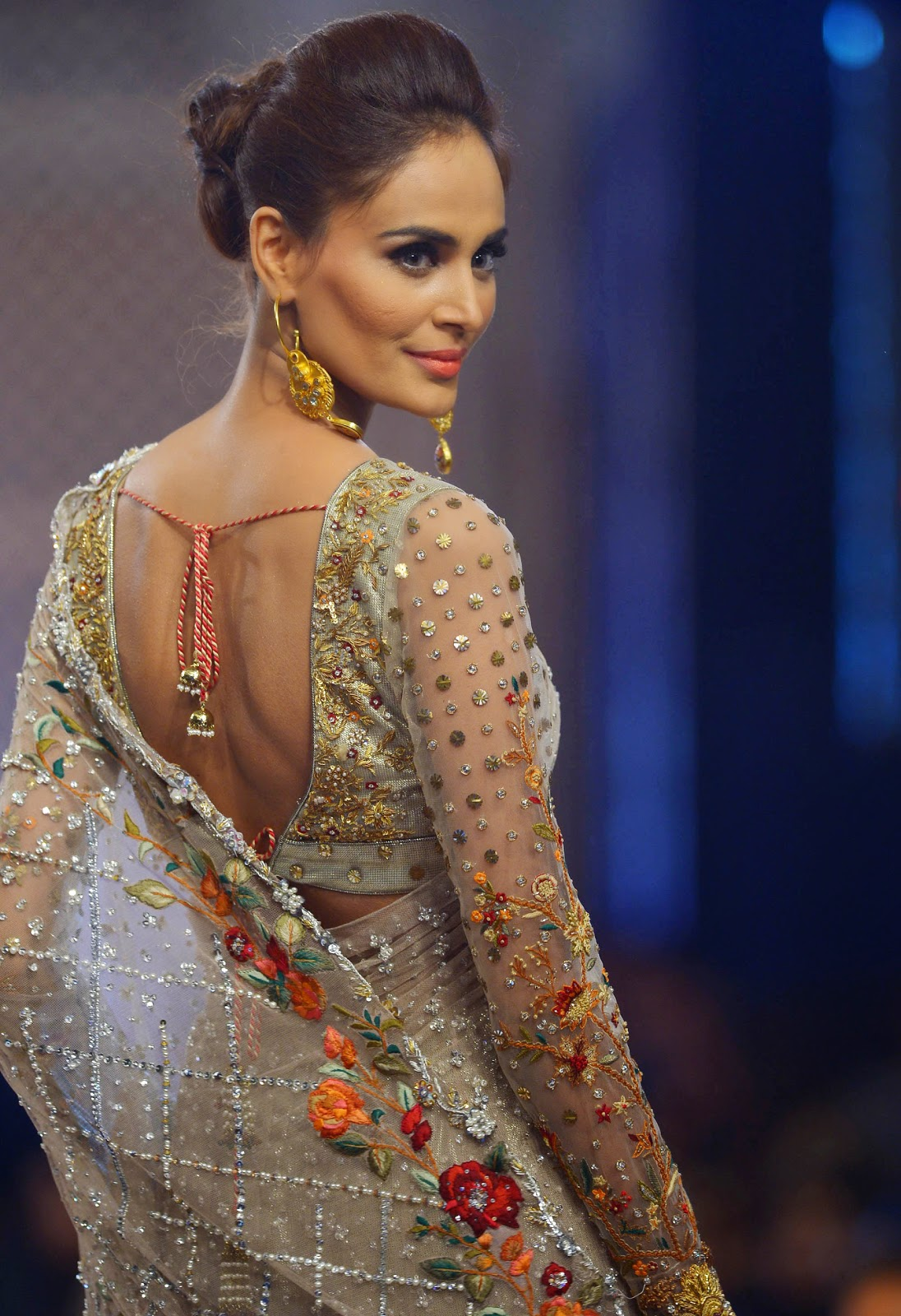 PFDC L'Oreal Paris Bridal Week 2014 First Day HD Photos
