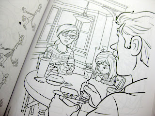 inside out coloring book