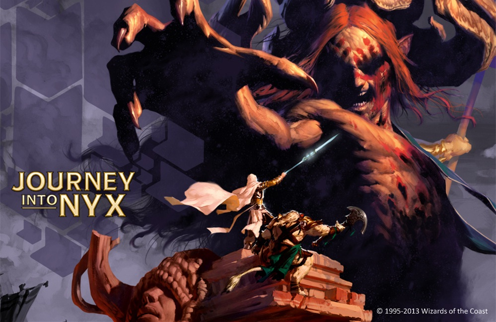 Posted by CopySix at Friday  August 30  2013Journey Into Nyx Planeswalker