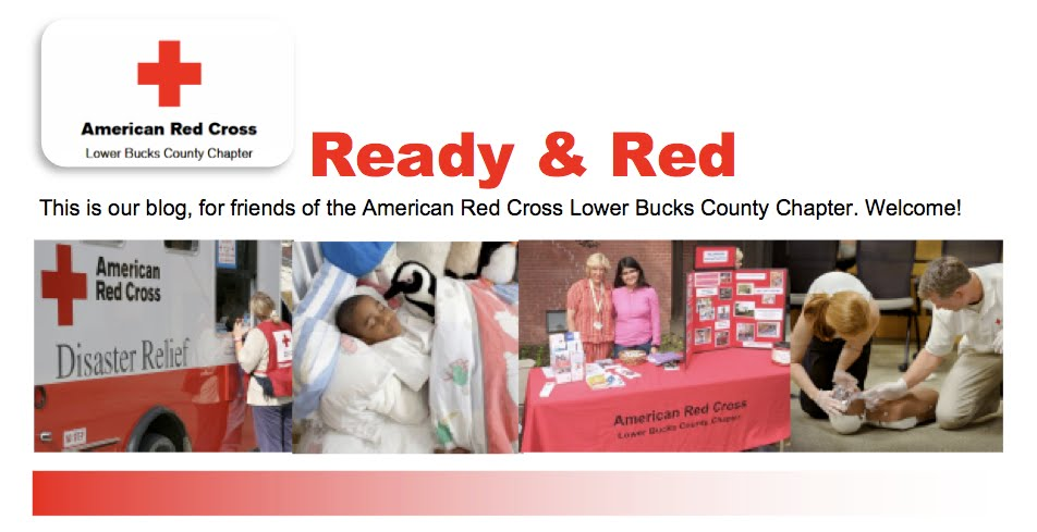 American Red Cross Lower Bucks County Chapter Blog