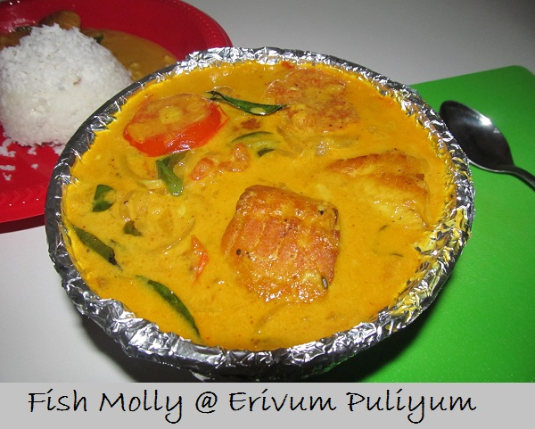 Erivum puliyum fish molly fish curry with coconut milk for Molly fish food