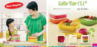 Tupperware Lolly Tup