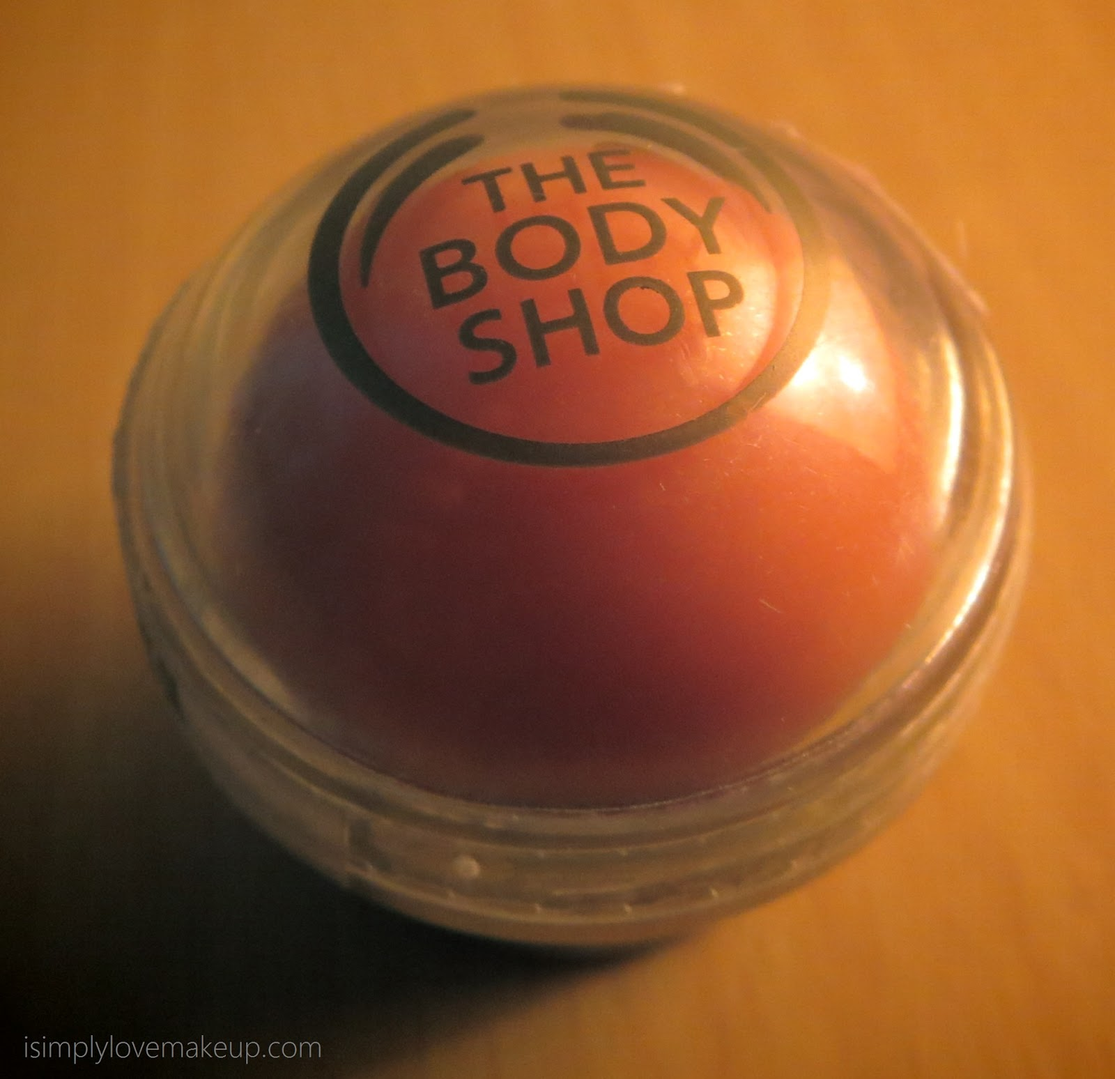 The Body Shop Ginger Sparkle Lip Balm