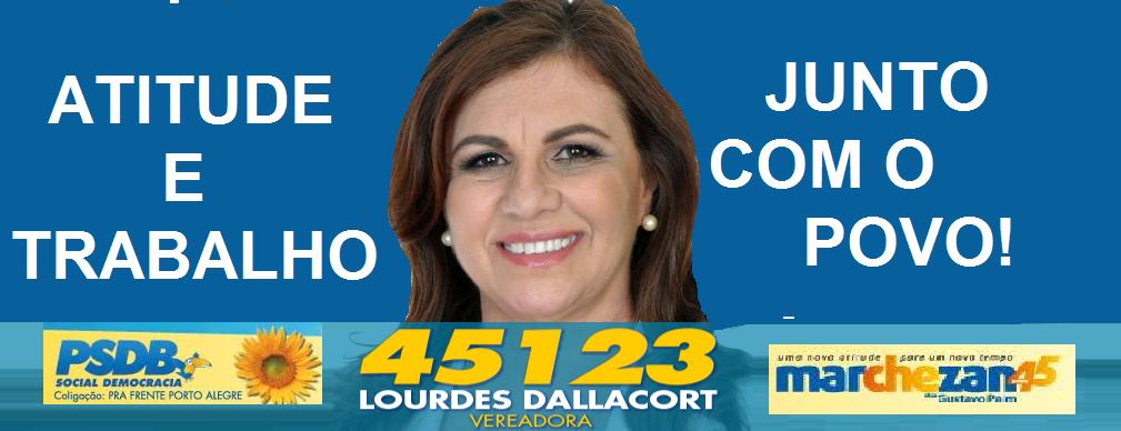 Lourdes Dallacort é candidata