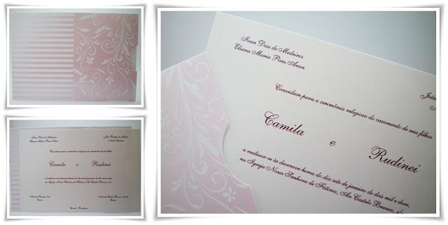 Casamento de Camila e Rudinei, modelo Daniela 120.