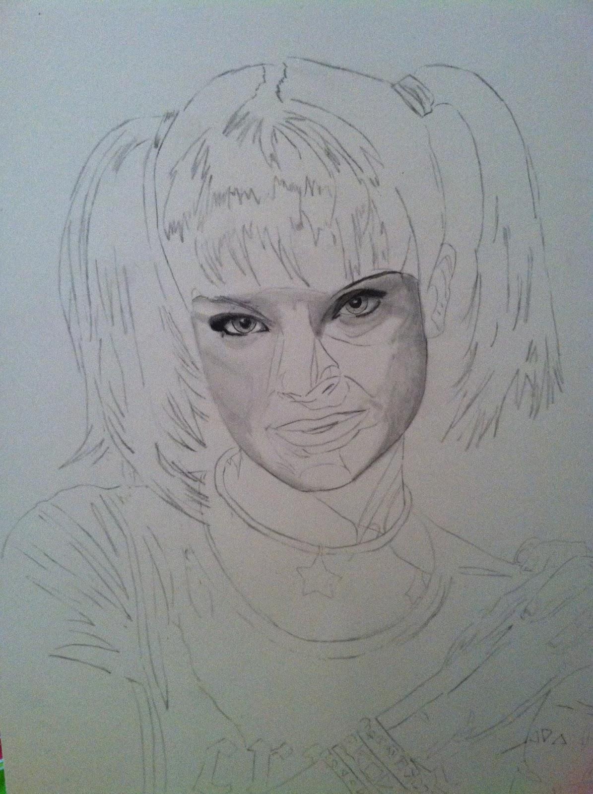 How To Draw Abby From Ncis Drawn By Sara Martinez