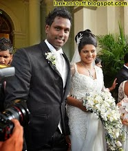 Angelo Mathews Wedding photos