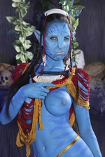 Yurizan Beltran in This Ain't Avatar XXX 2 - Horny Halloween From Hustler