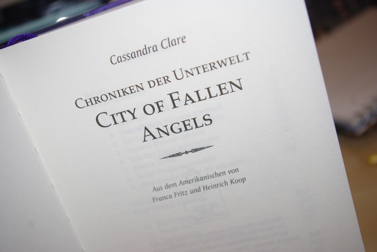 city of fallen angels pdf cassandra clare