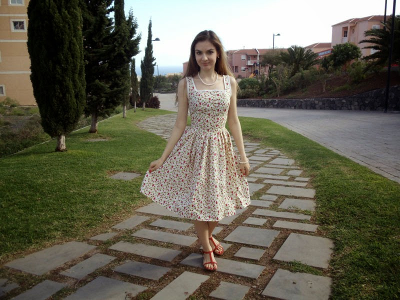 La Mia Boutique 50s Style Dress From Grace Kelly Collection Tip Top Sewing