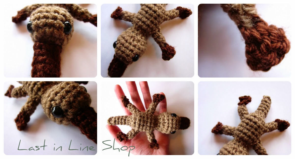 Last in Line Shop: Platypus Pattern $3 on Etsy