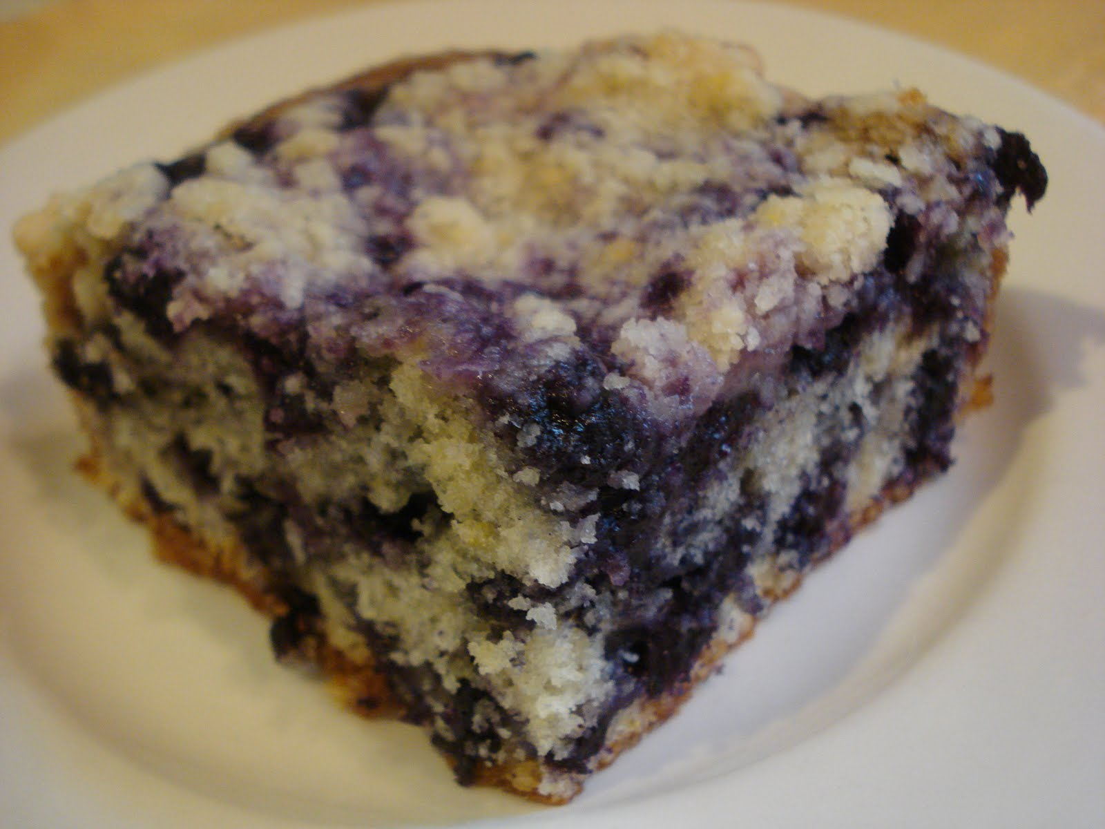 ... Lemon Blueberry Buckle is every bit as delicious as that Blueberry