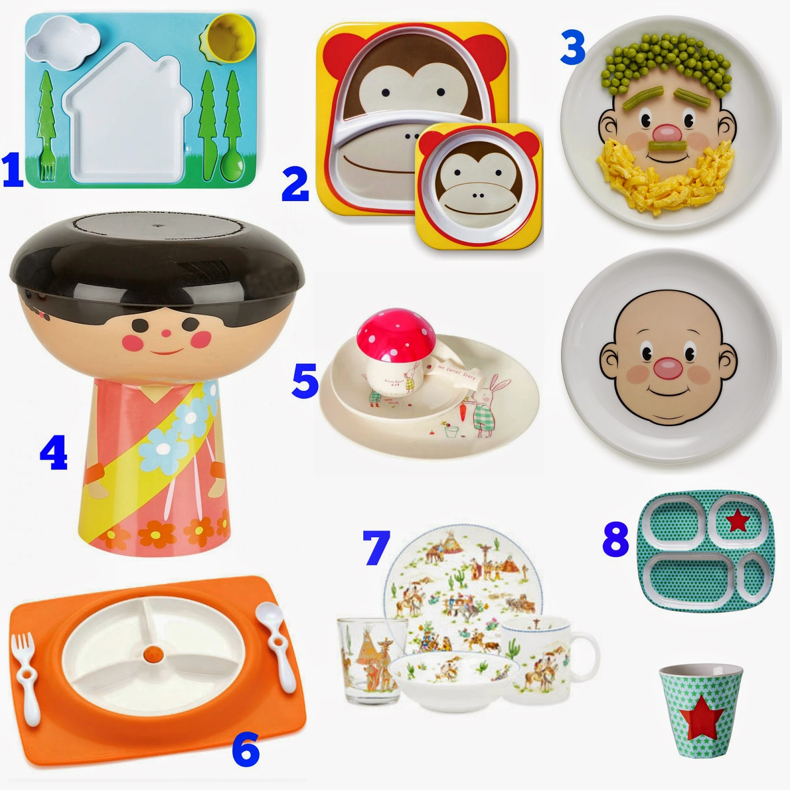 8 cool toddler dinner plates from £1.99 | dinner ware | plates | toddler meals | melamine plates | kids dinners | jamie oliver | annabel kramel | ella kitchen | zara | mail peg | skip hop | bake | cooking | dinner time | snacks | toddler meals | plates | beakers | cutlet | food plate | fred and friends | china | cup | meals | mamas VIB