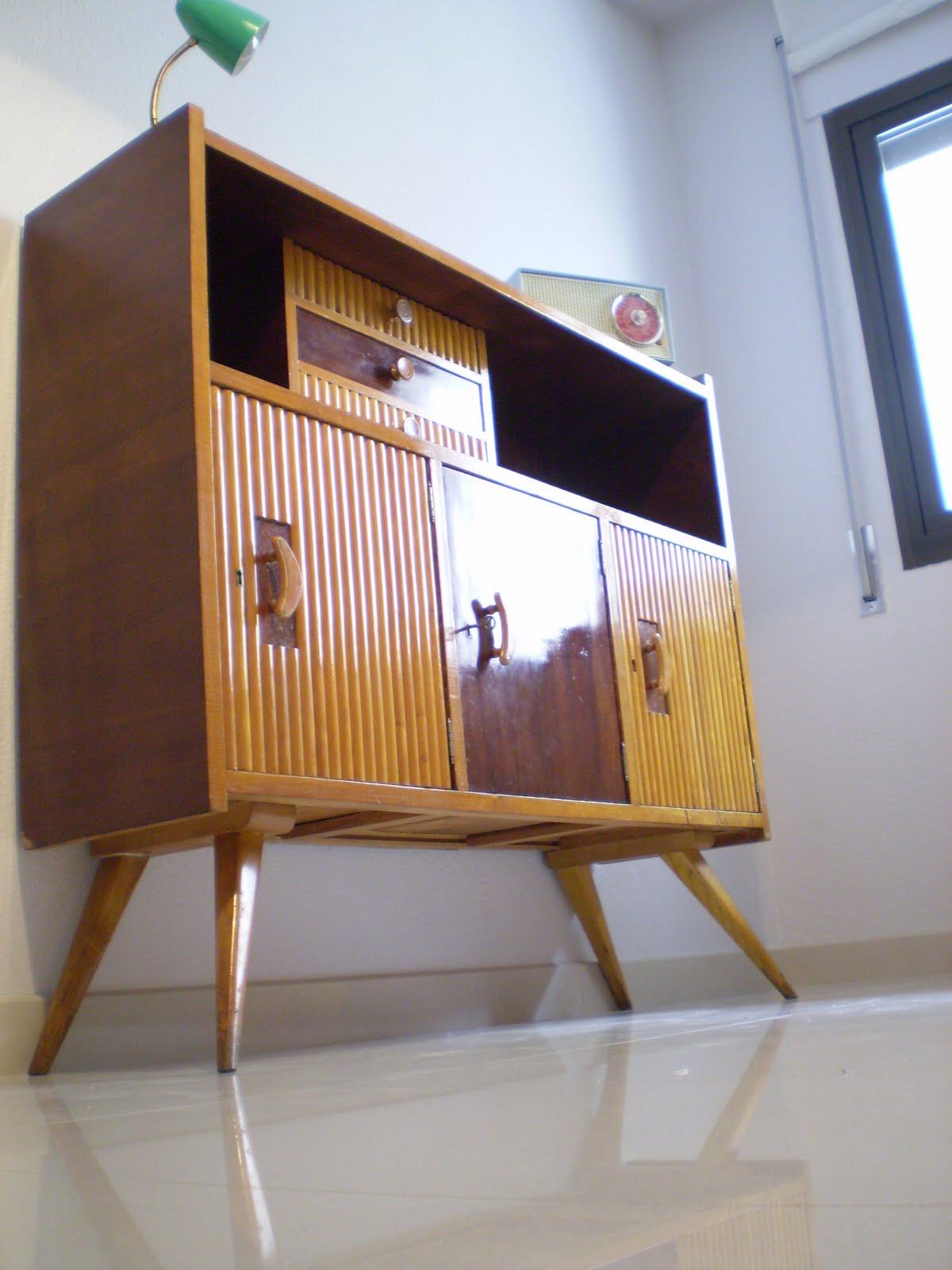 Vintager a mueble aparador a os 50 - Muebles anos 60 ...