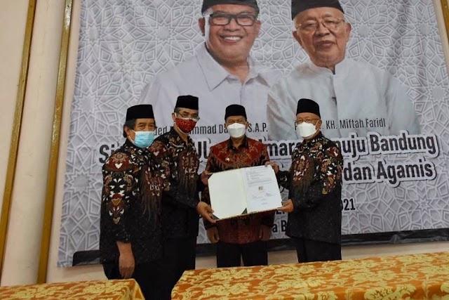 Walikota Bandung Minta Ulama Lebih Adaptif