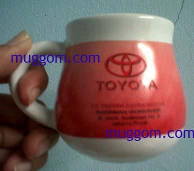 mug gentong sebagai mug promosi toyota