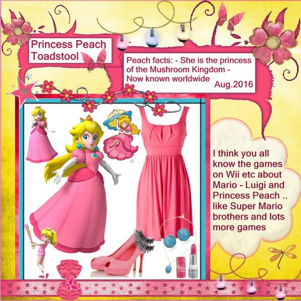 Aug.2016 - Princess Peach Toadstool