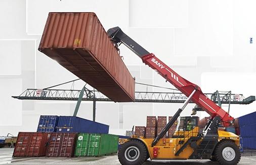 Gestão de containers da Salvador Logística