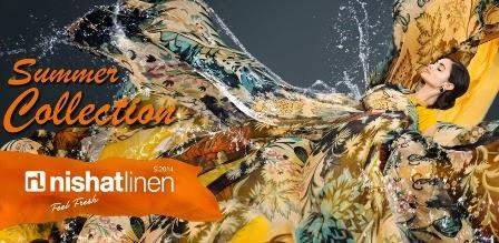 Nishat Linen Summer Dresses 2014