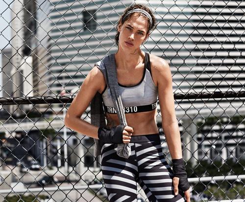 moda deportiva mujer H&M Otoño Invierno 2015