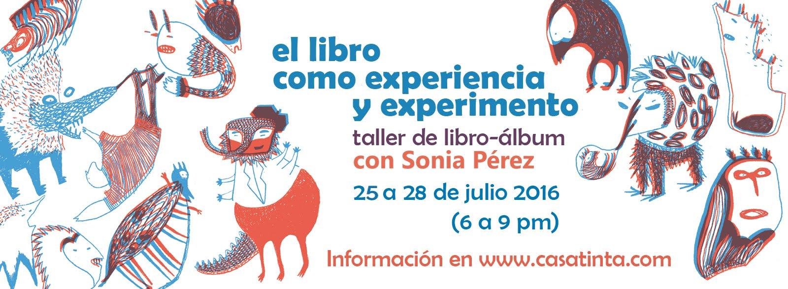 TALLER LIBRO ÁLBUM con Sonia Perez / 25 de julio