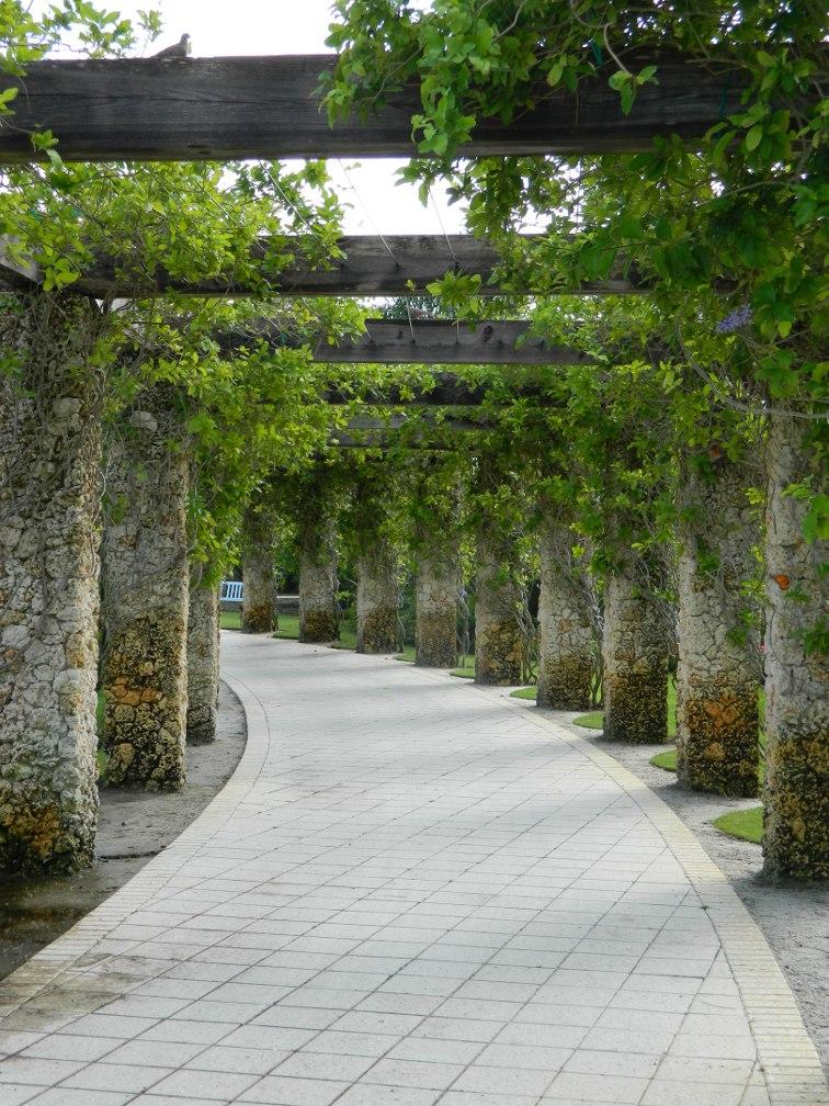 Queen's Wreath covered arbour Caribbean Garden Naples Botanical Garden by garden muses-a Toronto gardening blog
