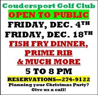12-4 Coudersport Golf Club