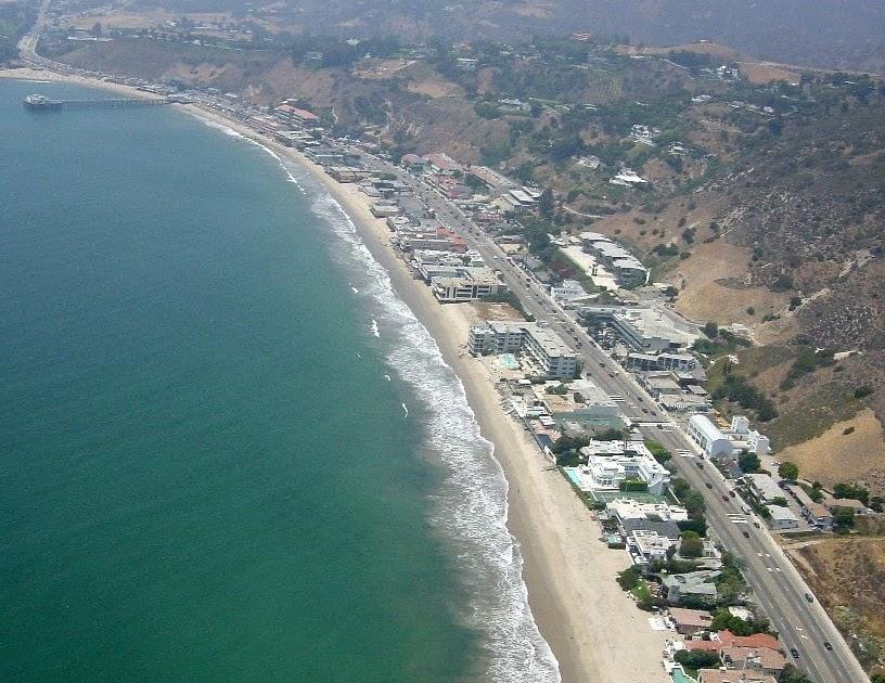 Life West Coast Latigo Beach Malibu California