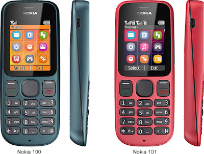 Nokia 101 And 100