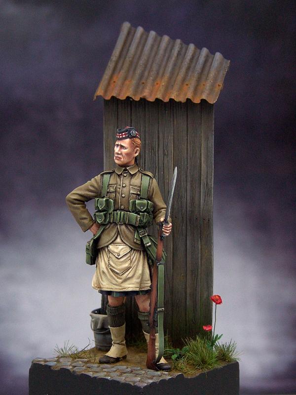 1 st Gordon Highlander 1914 - Tommy's War Gordon02resize